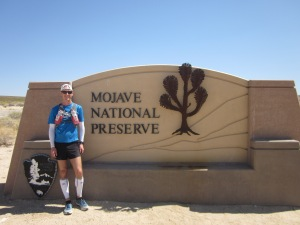 Entering the Mojave National Preserve